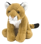 Mountain Lion/ Cougar Cuddlekins Plush Toy 8""