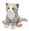 "Grey Tiger  Cat Pet Shop Collection 10.5"" H"
