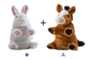 "Switch A Rooz Horse and Bunny 7"" H"