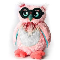 "Big Owl Glasses Holder 12.5""h"