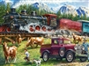 Great Western Train 1000 Piece Puzzle