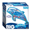 Big Dolphin 500 Piece Shaped Puzzle