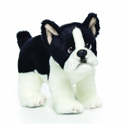 "Boston Terrier Small 7.5"" L Nat & Jules"