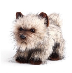 "Carn Terrier Plush Dog 11"" L from Nat & Jules Collection"