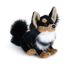 Long Haired Chihuahua Plush Dog from the Nat & Jules Collection