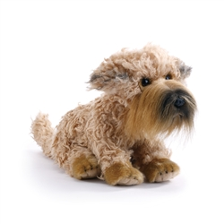 "Wheaten Terrier Plush Dog 8"" H  from Nat & Jules Collection"