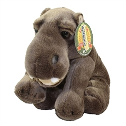 "Heirloom Floppy Hippo 9"" H"