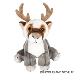 "Arctic Reinderr / Moose Heirloom Floppy  11"" H"