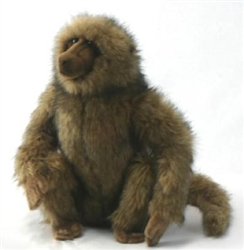 "Baboon Sitting by Hansa 13"" H"