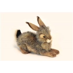 "Bunny Rabbit Blacktailed Crouching 9.75"" L"