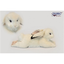 "Bunny Rabbit White Floppy Earred 15"" Long"