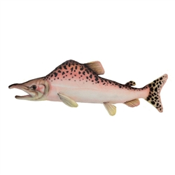 "Hansa Salmon Plush Toy 15"" L"