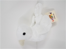 "Dove Plush Toy 4"" H"