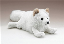 Arctic Fox Lying 17""