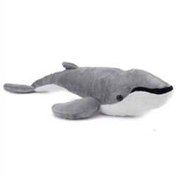 "Humpback Whale Plush Toy 18"" L"