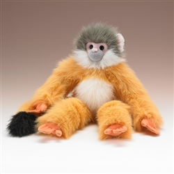 "Squirrel Monkey Plush Toy 18"" H"