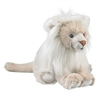 "White Lion Plush Toy 17"" H"