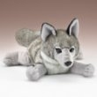"Wolf Lying by Wildlife Artists 11"" Long"