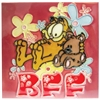Garfield and Pooky Best Friends Forever Ceramic Tile