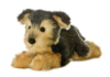 Yorky Yorkshire Terrier Plush Dog Flopsie