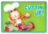 Garfield Tempered Glass Cutting Board