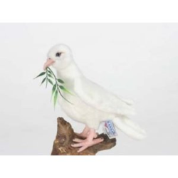 "Hansa White Dove 8"" H"