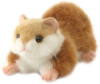 Hansa Lying Brown Hamster