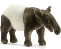 "Tapir Plush Toy 15"" L by Hansa"