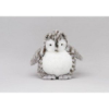 White Snow Owl Plumpee (Large)