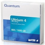 Quantum MR-L4MQN-01-10-Pack Lto Ultrium Data Cartridge LTO-4 800GB (Native)/1.6TB 10-Pack 800GB/1600GB Cartridges (LTO4)