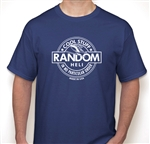 Team Random Heli - Basic T-Shirt, Metro Blue