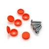 Mounting Screws and Orange Covers for STC8090 Skid Clamp Bases