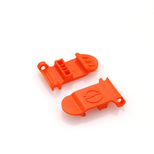 Skid Clamp Latch 5.5mm-6.5mm Orange