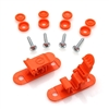 Skid Clamp Assembly 5.5mm-6.5mm Orange