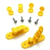 Skid Clamp Assembly 5.5mm-6.5mm Yellow