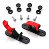 Skid Clamp Assembly Goblin 630/700/770 Low Profile Red