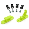 Skid Clamp Assembly 8.0mm Fluorescent Yellow