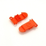 Skid Clamp Latch 8.0mm Orange
