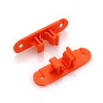 Skid Clamp Base 8.0mm-9.0mm Orange