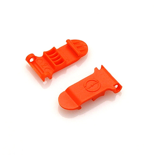 Skid Clamp Latch 9.0mm Orange