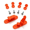 Skid Clamp Assembly 9.0mm Orange