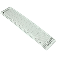 Stanley Gibbons Instanta stamp perforation gauge