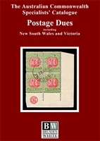 ACSC Postage Dues catalogue - 2020 Australian Commonwealth Specialists' Catalogue BW 3rd Edition