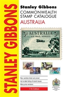 Australia Stamp Catalogue 2019 Stanley Gibbons 11th Edition
