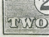 "Kangaroo flaw ACSC 5(2)j 2R60 Shading break under ""W"" of ""TWO"" 2d Die I listed variety"