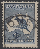Kangaroo SG 25 2nd watermark 2½d