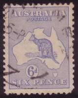 Kangaroo SG 26 2nd watermark 6d ultramarine