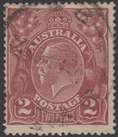 KGV SG 78 BW ACSC 97 1924 2d Two Pence red-brown