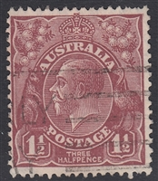 KGV SG 97 BW ACSC 93 1930 1½d red-brown