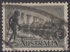 SG 149 Centenary of Victoria 1934 1s black Perf 10½